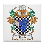 Hand Coat of Arms Tile Coaster
