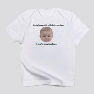 Dos Boobies Baby Beer Infant T-Shirt
