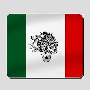 Mexican Soccer Flag Mousepad
