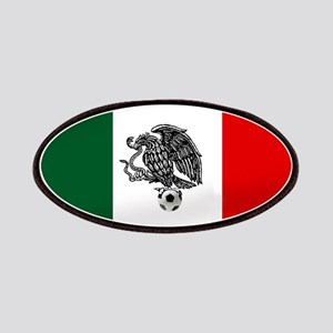 Mexican Soccer Flag Patch