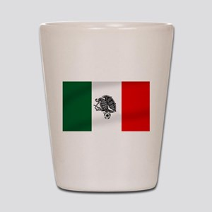 Mexican Soccer Flag Shot Glass