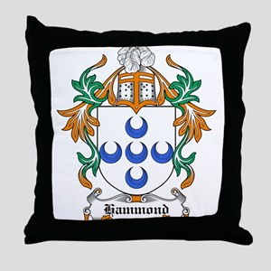 Hammond Coat of Arms Throw Pillow