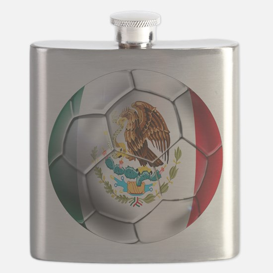 Mexican Soccer Ball Flask