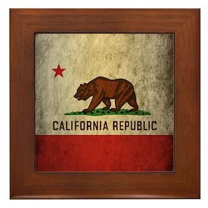 California Republic Wall Art