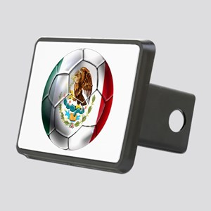 Mexican Soccer Ball Rectangular Hitch Cover