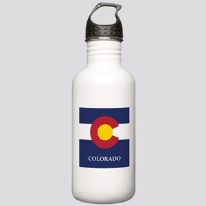 Colorado Flag Stainless Water Bottle 1.0L