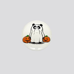Panda Ghost Mini Button