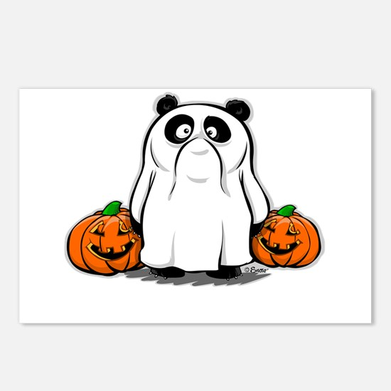 Panda Ghost Postcards (Package of 8)