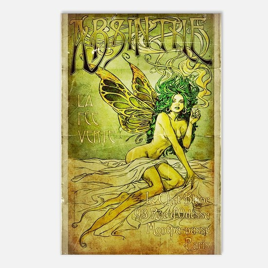 Vintage_Chick La FeeVerte Postcards (Package of 8)