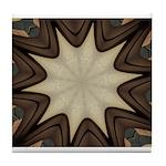 Chocolate Starburst Tile Coaster