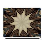 Chocolate Starburst Mouse Pad