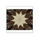 Chocolate Starburst Sticker (Square 50 pk)