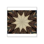 Chocolate Starburst Sticker