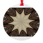 Chocolate Starburst Ornament