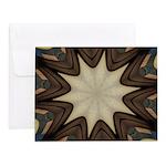 Chocolate Starburst Note Cards (Set of 20)