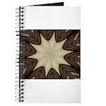 Chocolate Starburst Notebook
