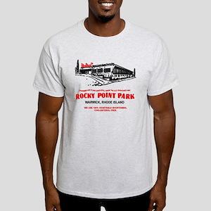 Rocky Point Park Clam Cake Bag Light T-Shirt