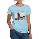 Grunge Wisconsin Flag Women's Light T-Shirt