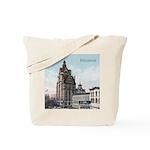 Grunge Wisconsin Flag Tote Bag