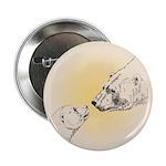 "Polar Bear & Cub 2.25"" Button (10 pack)"