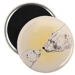 """Polar Bear & Cub 2.25"""" Magnet (100 pack)"""