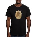 Havanese Men's Fitted T-Shirt (dark)