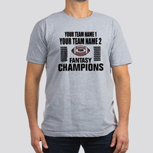 YOUR TEAM FANTASY CHAMPIONS Men's Fitted T-Shirt (