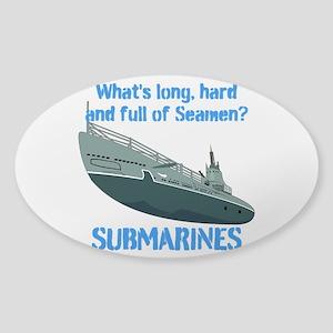 Navy Seaman Submarines Sticker (Oval)