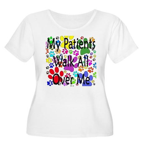 My Patients Walk All Over Me (Veterinary) Women's