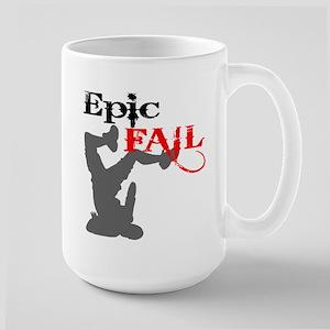 Epic Fail Type 2 Large Mug