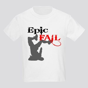 Epic Fail Type 2 Kids Light T-Shirt