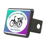 Watch for Bicycles Rectangular Hitch Cover