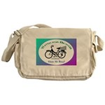 Watch for Bicycles Messenger Bag