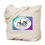 Watch for Bicycles Tote Bag