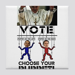 VATICAN PUPPETS - VOTE FOR YOUR PUPPET! Tile Coast
