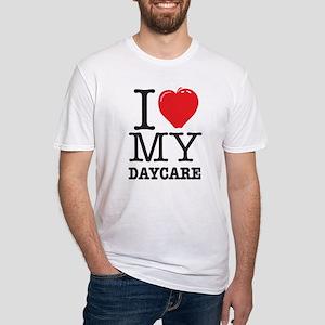 ILoveMyDaycareLogo Fitted T-Shirt