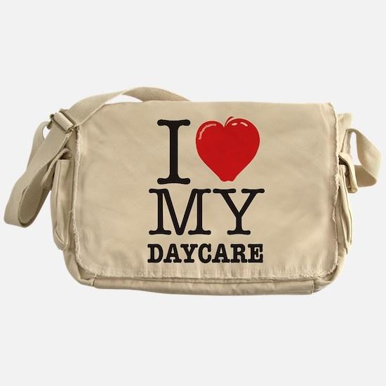 ILoveMyDaycareLogo Messenger Bag