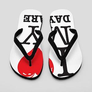 ILoveMyDaycareLogo Flip Flops
