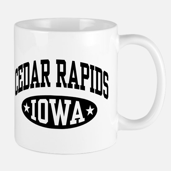 Cedar Rapids Iowa Mug