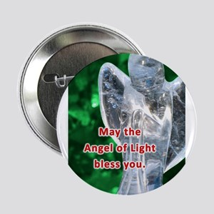 """Angel of Light Blessing 2.25"""" Button"""