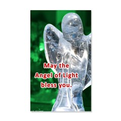 Angel of Light Blessing Wall Decal