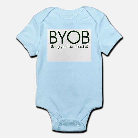 BYOB (Breastfeeding) Infant Creeper