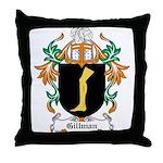 Gillman Coat of Arms Throw Pillow