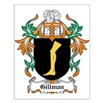 Gillman Coat of Arms Small Poster