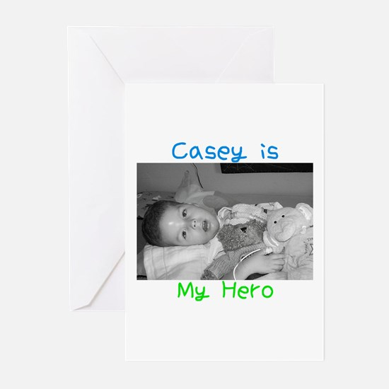 Casey is My Hero Greeting Cards (Pk of 10)