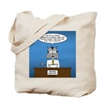 Cat Breaking News Tote Bag