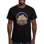 USS KITTY HAWK Men's Fitted T-Shirt (dark)