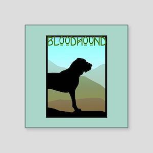 """craftsman bloodhound 6 Square Sticker 3"""" x 3"""""""