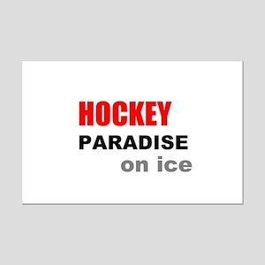 Paradise on Ice Mini Poster Print