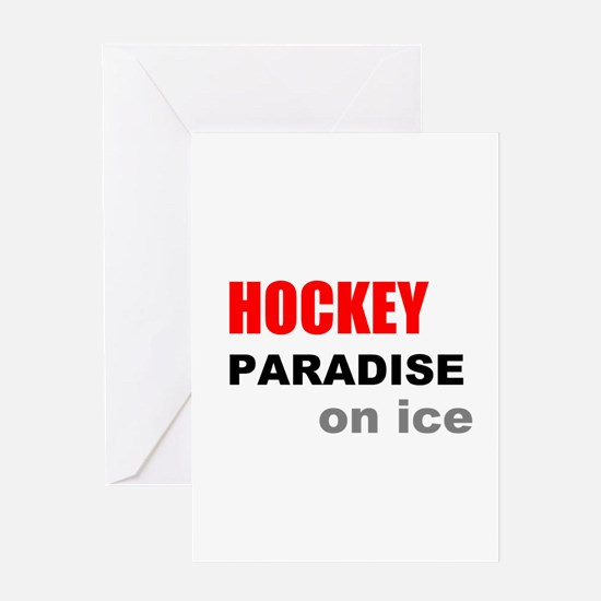 Paradise on Ice Greeting Card